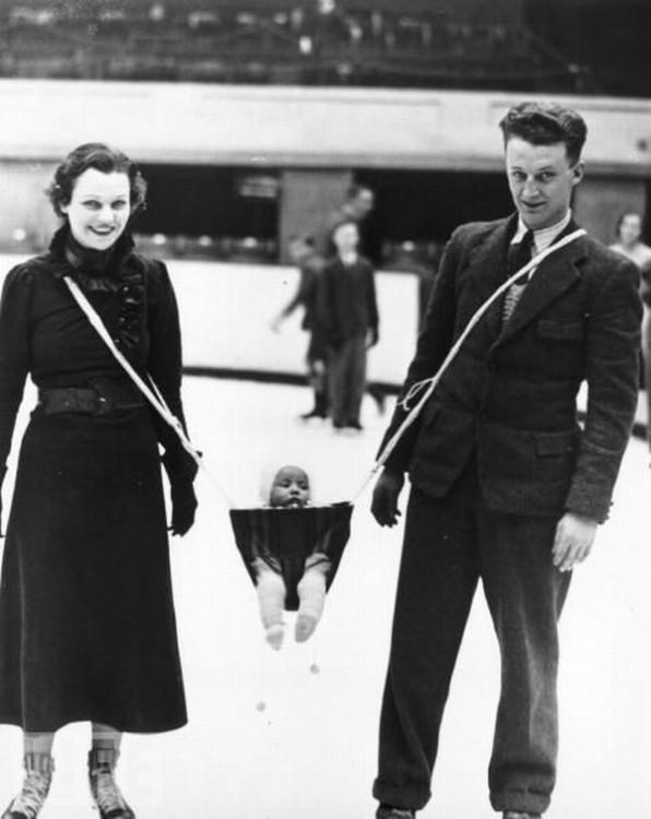 Porte bébé pour couple - Jack Milford - 1937