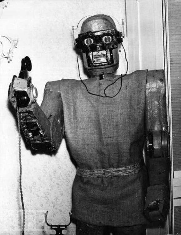 Robot qui décroche le téléhphone - Claus Scholz - 1964