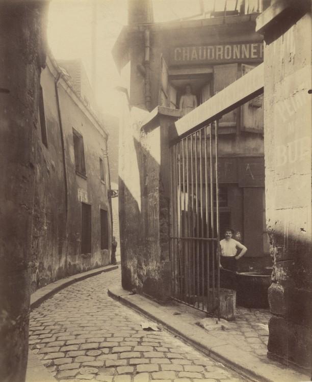 Atget-Paris-Entre-du-passage-de-la-Runion-1-et-3-Rue-du-Maure-3-arrondissement