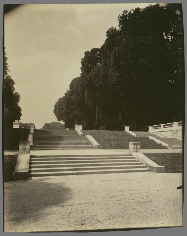 Atget Paris Parc de Saint Cloud 595x750 Le Paris de 1900 par Atget  photographie histoire art