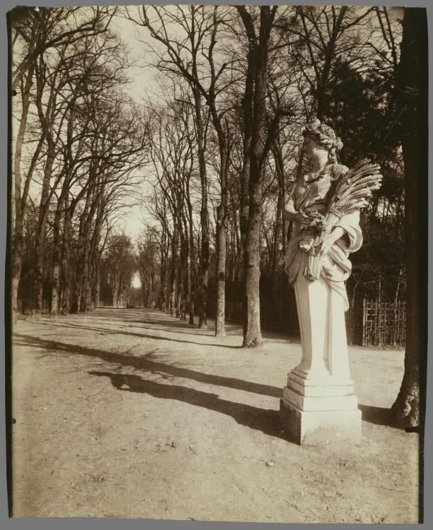 Atget Paris Parc de Versailles 612x750 Le Paris de 1900 par Atget  photographie histoire art