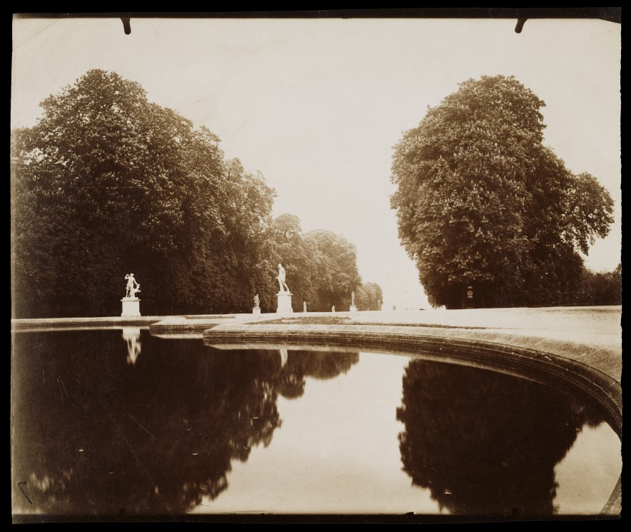 Atget-Paris-St-Cloud