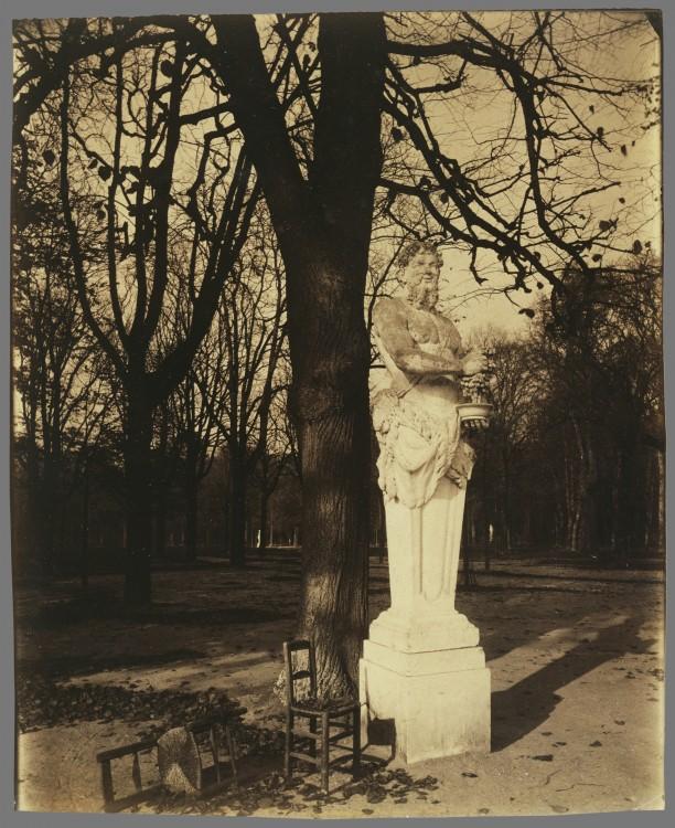 Atget Paris Versailles Coin de Parc 612x750 Le Paris de 1900 par Atget  photographie histoire art