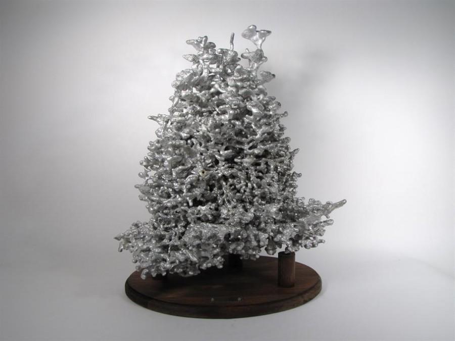 aluminium fourmiliere 01 900x675 De laluminium dans des fourmilières  video technologie photo animaux technologie