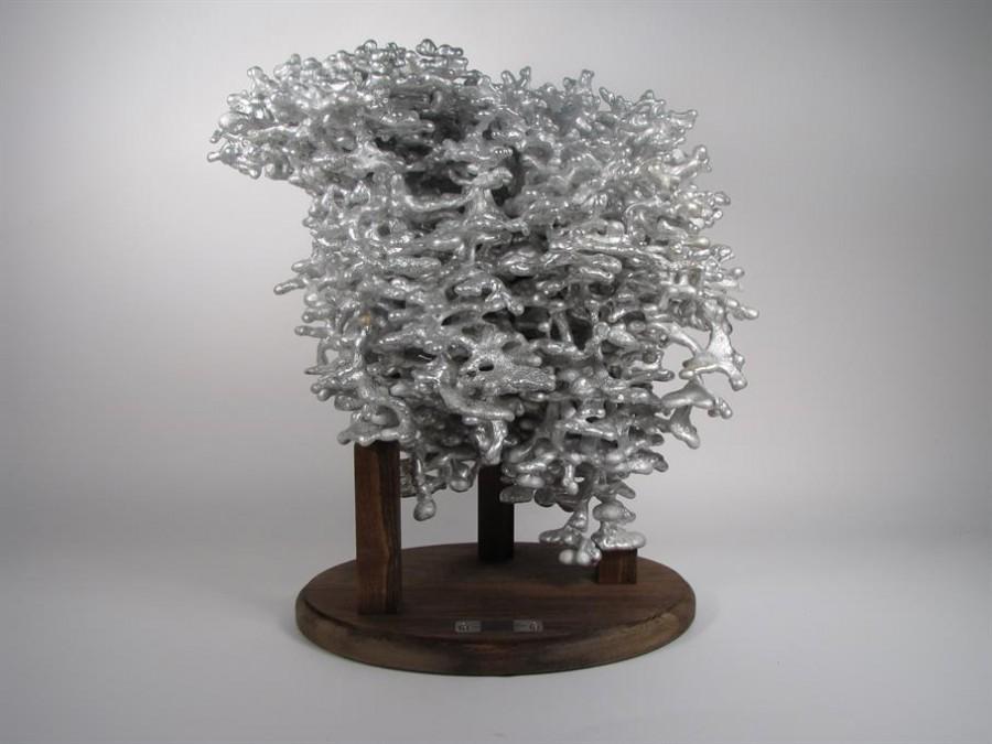 aluminium fourmiliere 05 900x675 De laluminium dans des fourmilières  video technologie photo animaux technologie