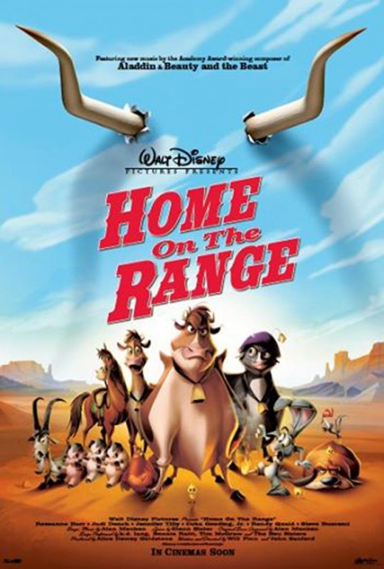 2004 Home on the Range Poster 540x800 Les affiches des 53  films Disney de 1937 à 2013  design cinema 2 art