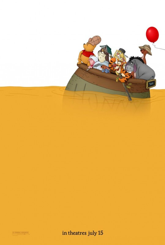 2011 Winnie the Pooh Poster 539x800 Les affiches des 53  films Disney de 1937 à 2013  design cinema 2 art
