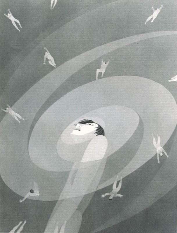 14 Pantophobia John Vassos 609x800 Les phobies illustrées de John Vassos  peinture 2 design art