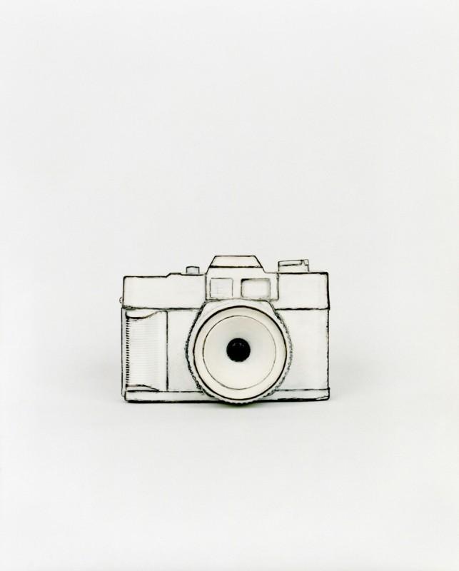 Des photographies d'objets qui ressemblent à des dessins