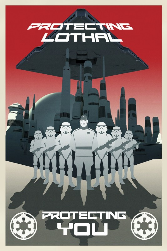 affiches de propagande pour star wars rebels. Black Bedroom Furniture Sets. Home Design Ideas